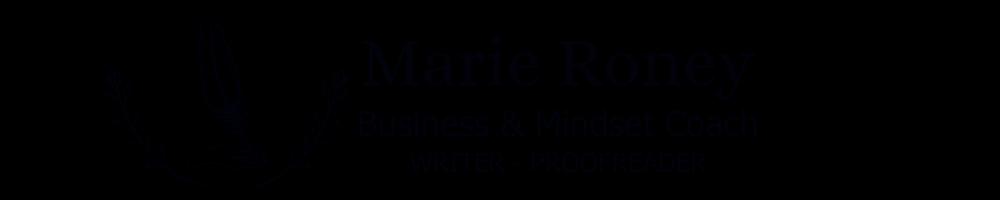 Marie Roney Life Coach
